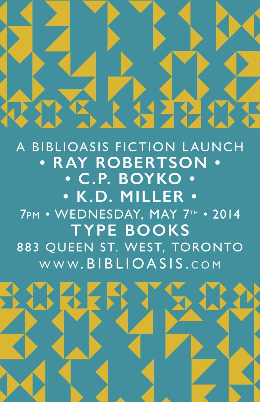 Fiction Launch Poster