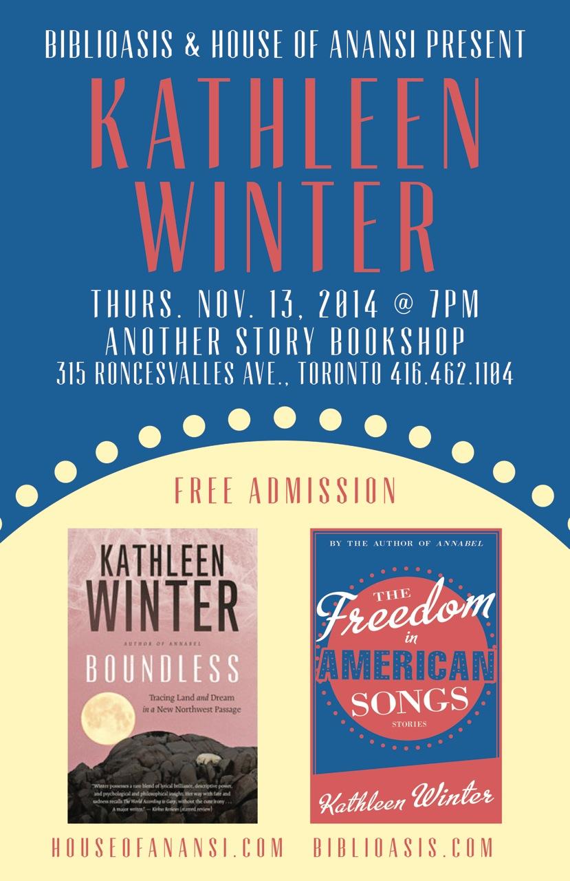 Kathleen Winter Poster