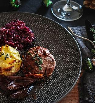 Weinbegleitung - Menü mit Fleisch