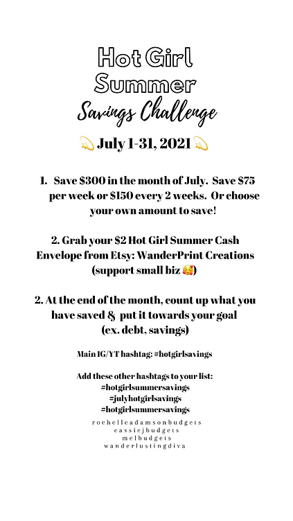 hot girl summer savings challenge.PNG