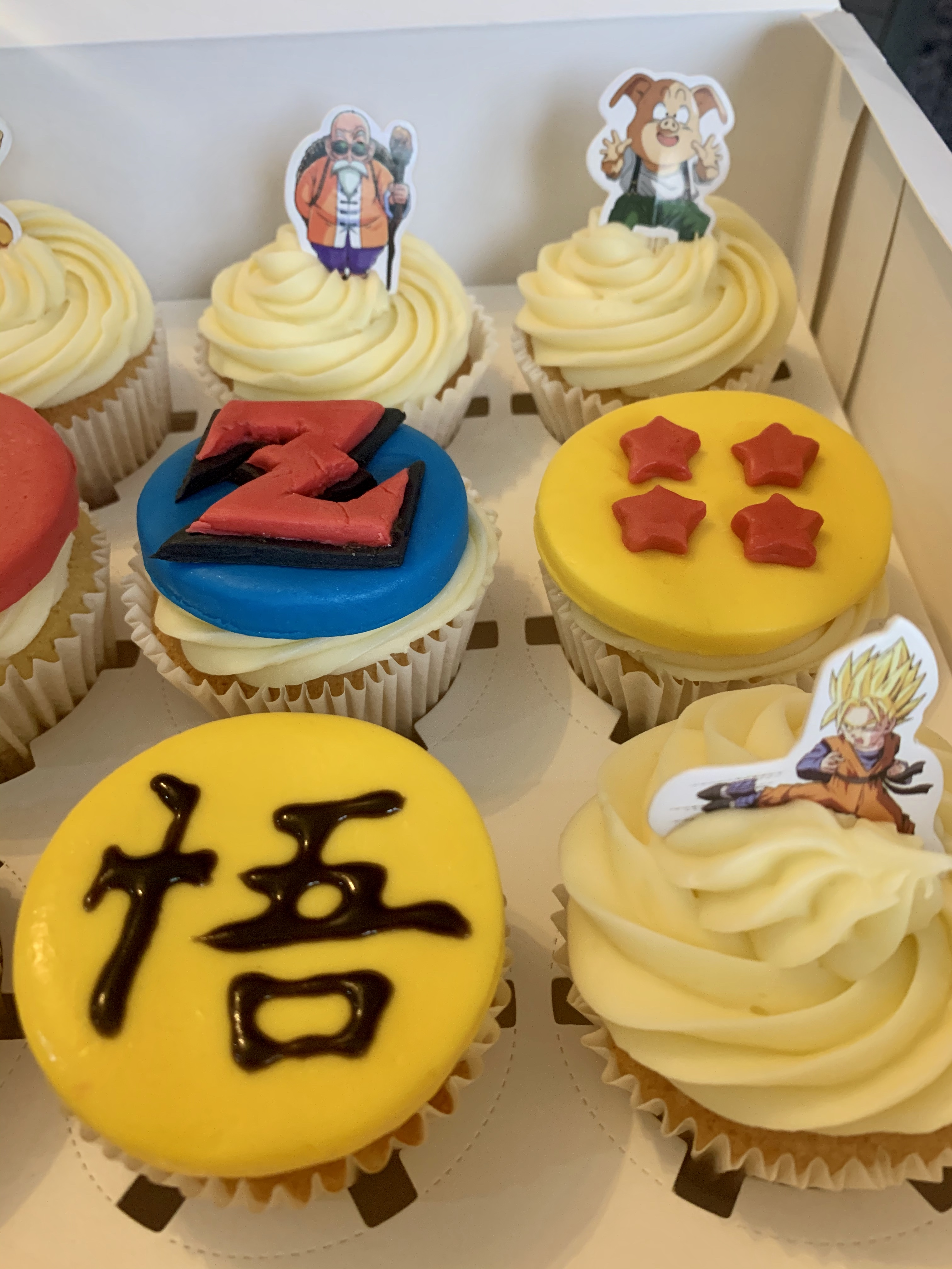 21.Dragon Ball Z Cupcakes