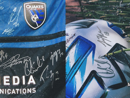 Donate to Enter to Win: Team Signed Jersey & Ball