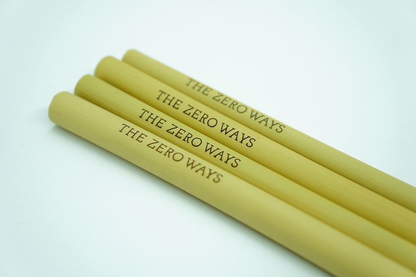 Bamboo Straw - 'THE ZERO WAYS'
