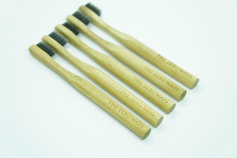 Bamboo Toothbrush - Children - Plain