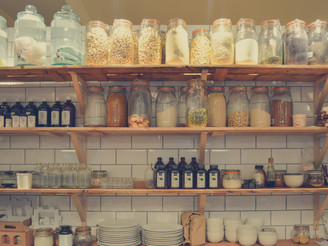 STORING FOOD THE ZERO WASTE WAY