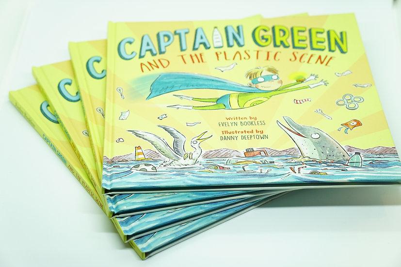 Captain Green and the Plastic Scene book