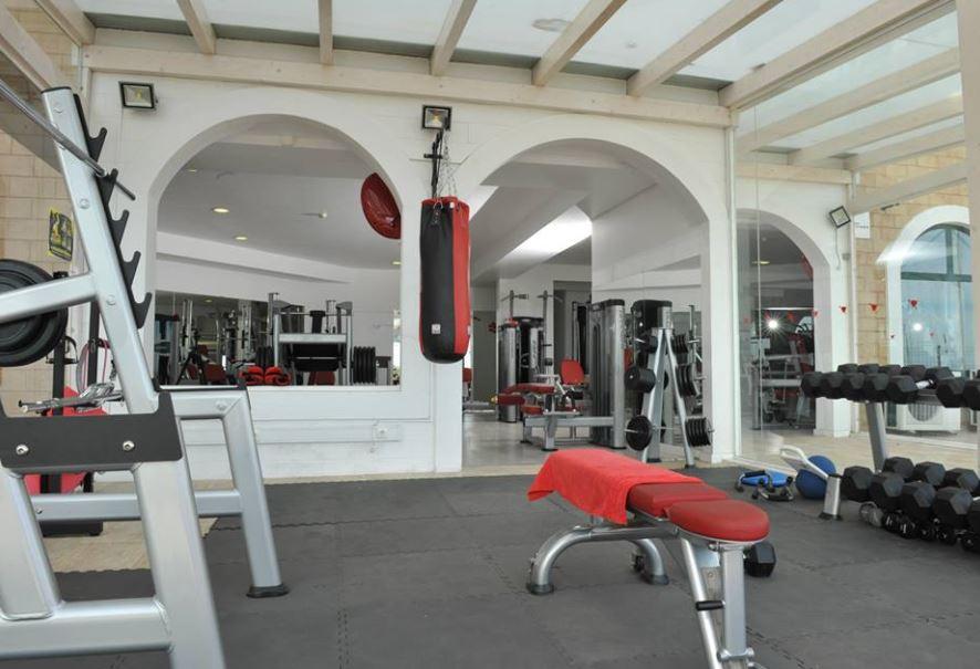 area musculação