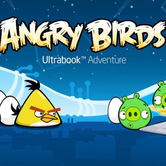 Intel   Angry Birds Ultrabook Adventure