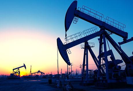 Oil pumps. Oil industry equipment. .jpg