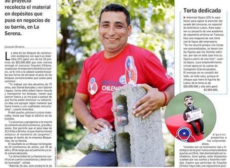 Prensa escrita destaca como ganador a bloquemac en impulso chileno