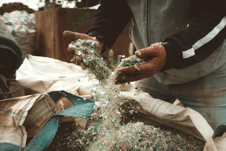 Plástico molido
