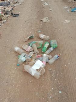 Plásticos como desechos