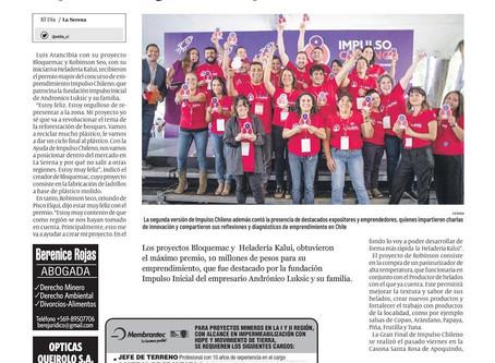 Diario el día comenta nuestro éxito en impulso chileno