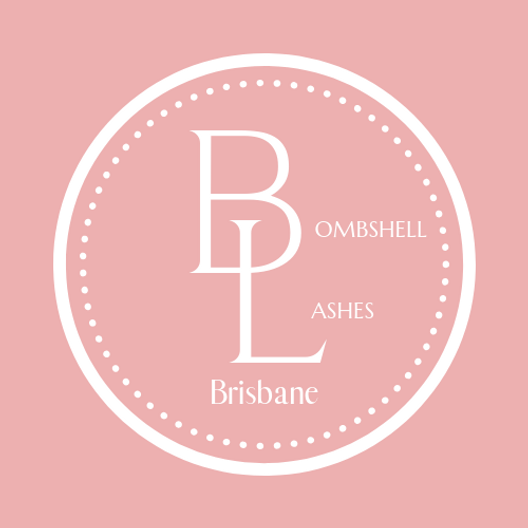 Bombshell Lashes Pink Logo