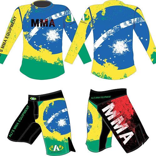 MMASS-4 shirt en short