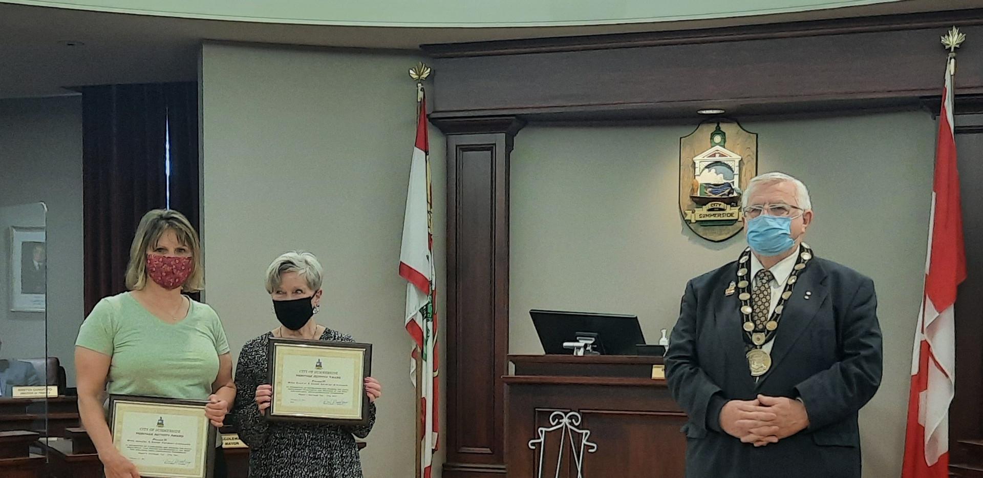 Mike Gaudet Gaudet and Susan Cormier-Arsenault - Heritage Activity Award