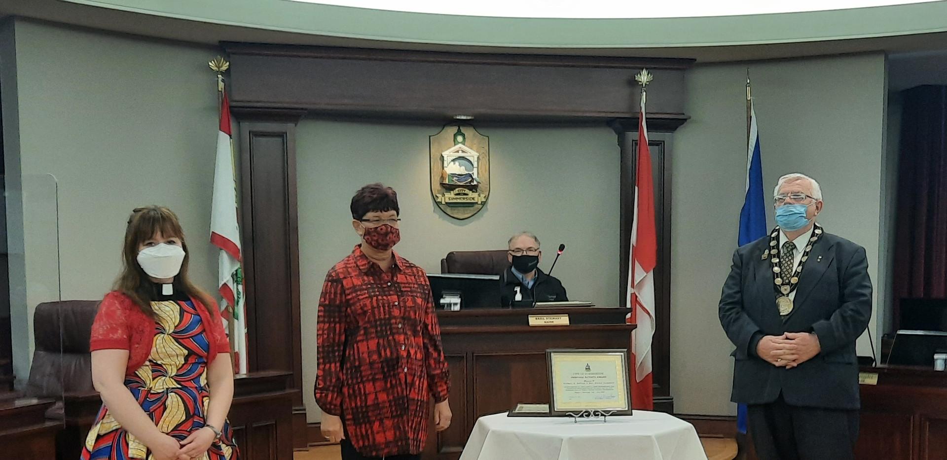 Barbara A. Gallant and Rev. Rachel Campbell - Heritage Activity Award