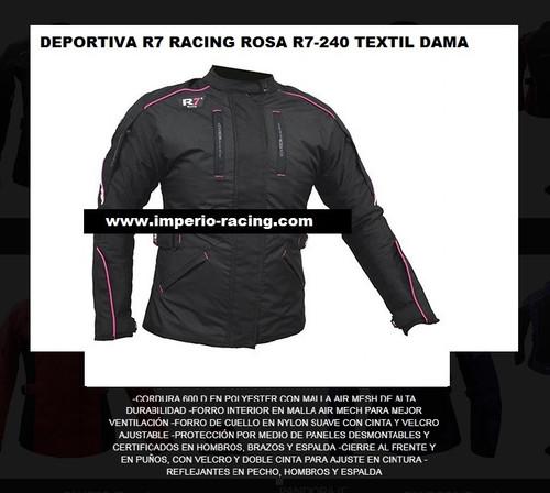 1b0420dba50 Chamarra para dama deportiva R7 R7-240 textil