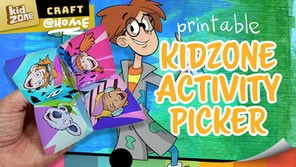 DIY Kidzone Activity Picker!