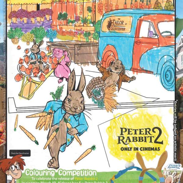 Peter Rabbit 2 - Winner