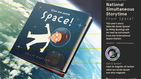 National Simultaneous Storytime: From Space!