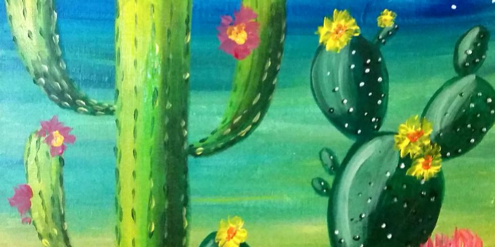 St. Al's Virtual Paint Nite: Summer Vibes!