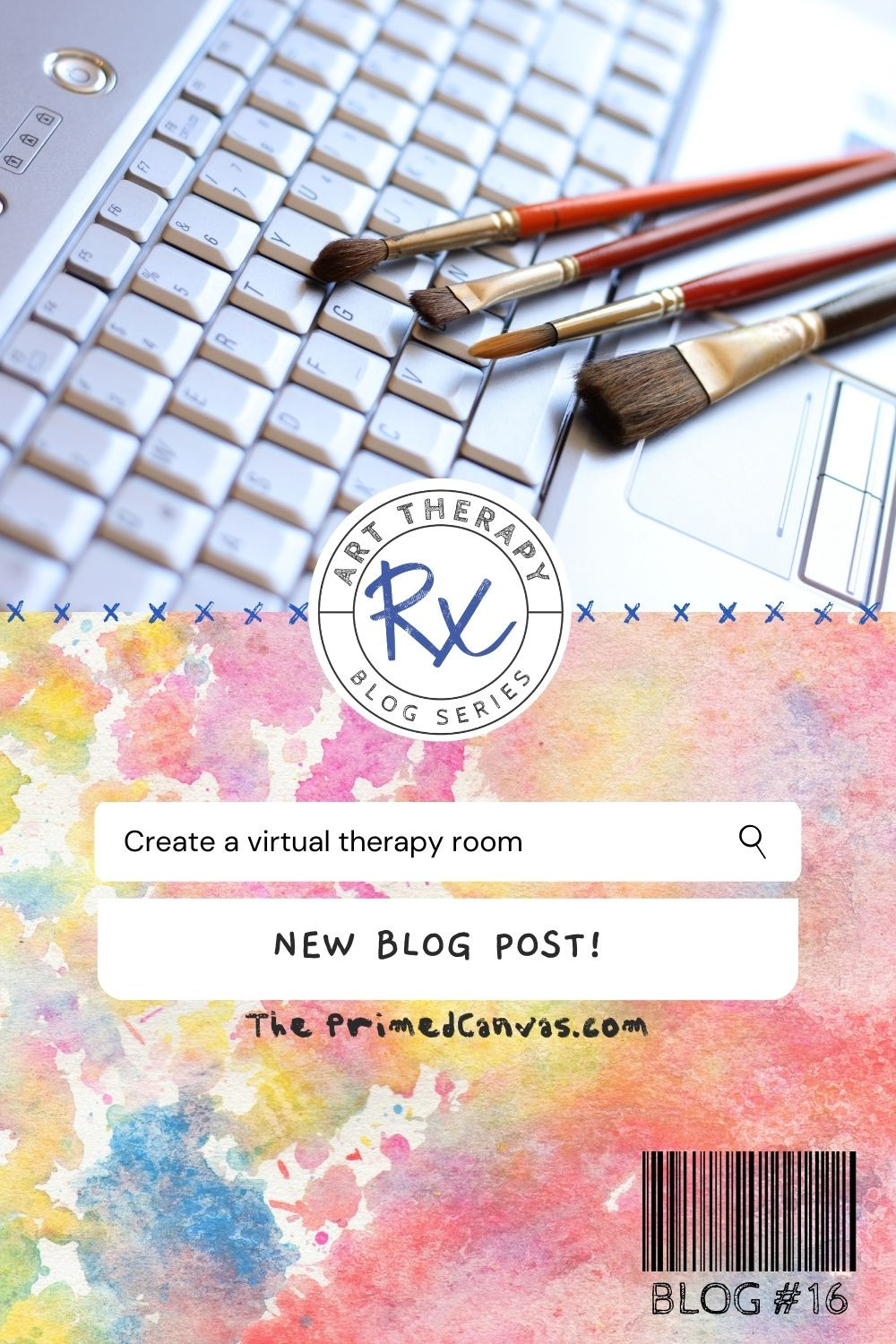 Art Therapy Rx: Virtual therapy resources using google slides.