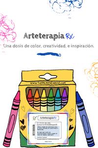 Arte-terapia Rx is una publicación de blog que proporciona recursos para usar en terapia en español.