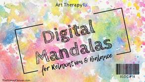 Digital Mandalas for Relaxation & Balance