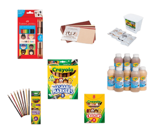 Learn more about play therapy and art therapy supplies that can be utilized to teach topics of diversity, acceptance, and anti-racism.