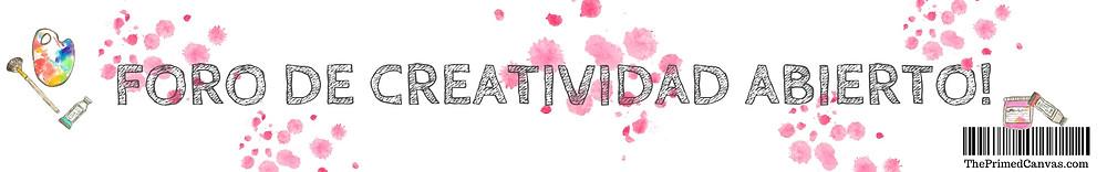 Haz clic para registrarte en el foro de creatividad.