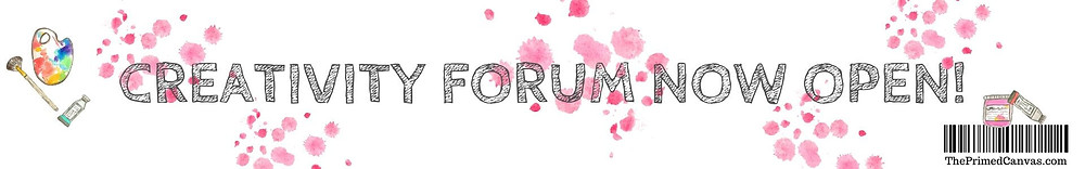 Join to The Primed Canvas creativity forum.