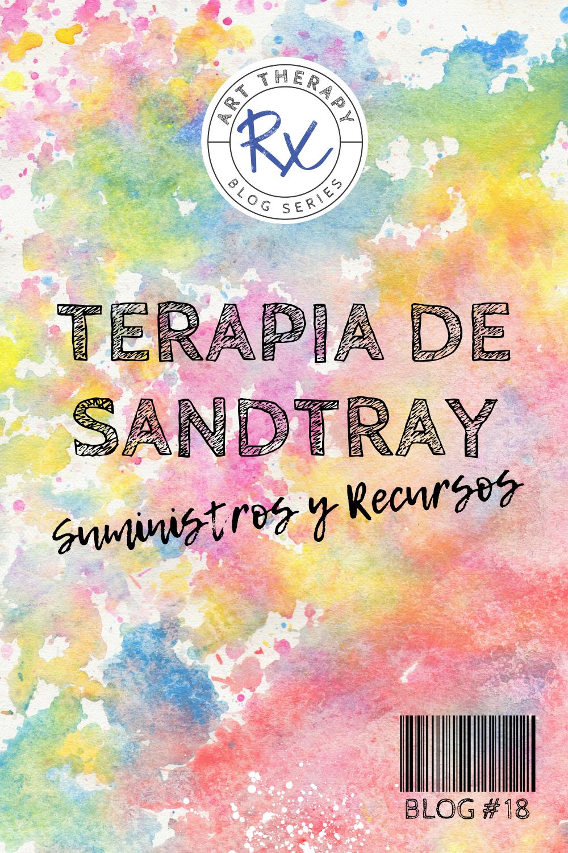 Arteterapia Rx: recursos y suministros de terapia Sandtray para consejeros y terapeutas.