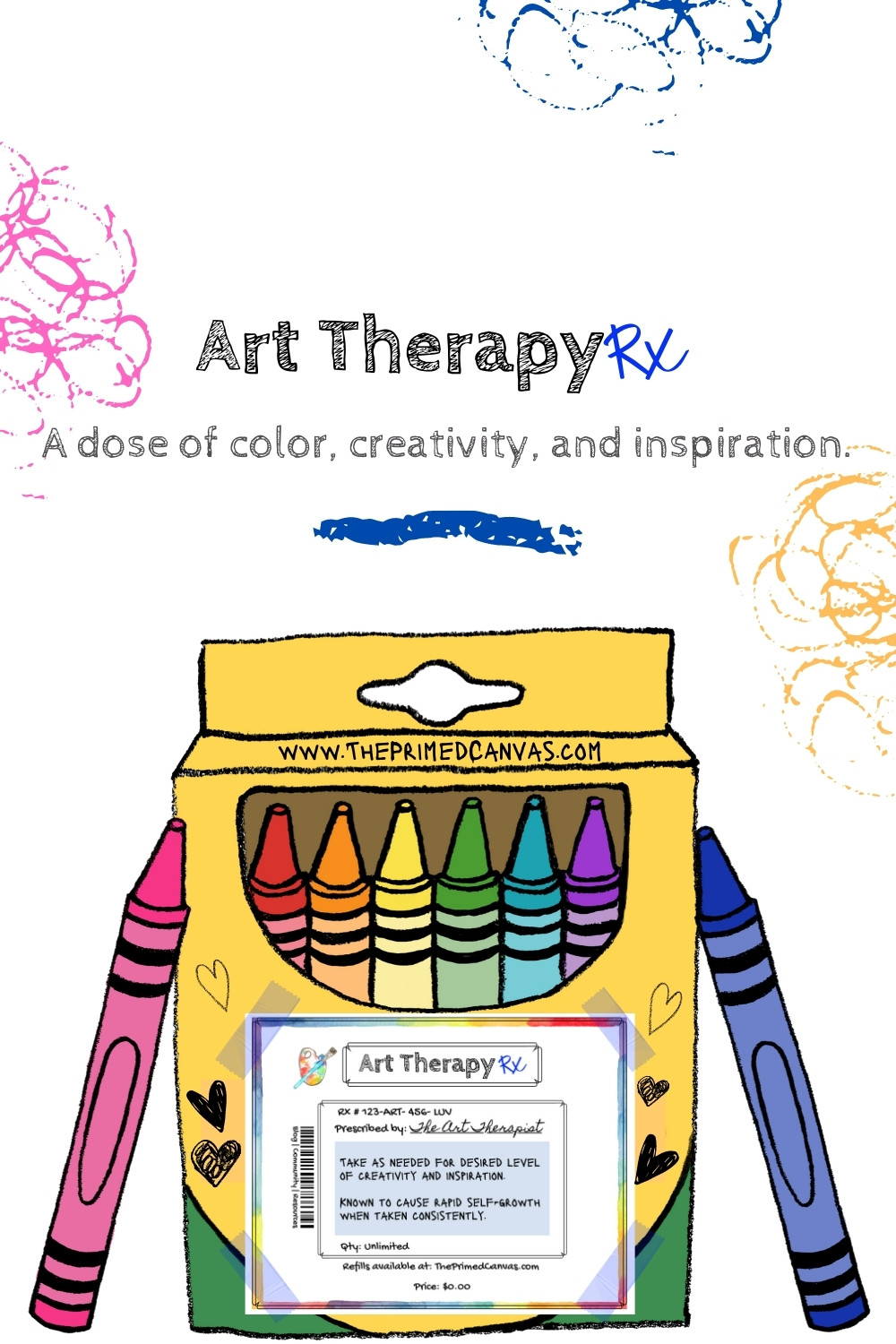 Art Therapy Rx blog post on art therapy directives.