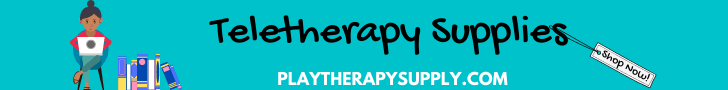 Browse and shop for books, games, and toys for teletherapy.