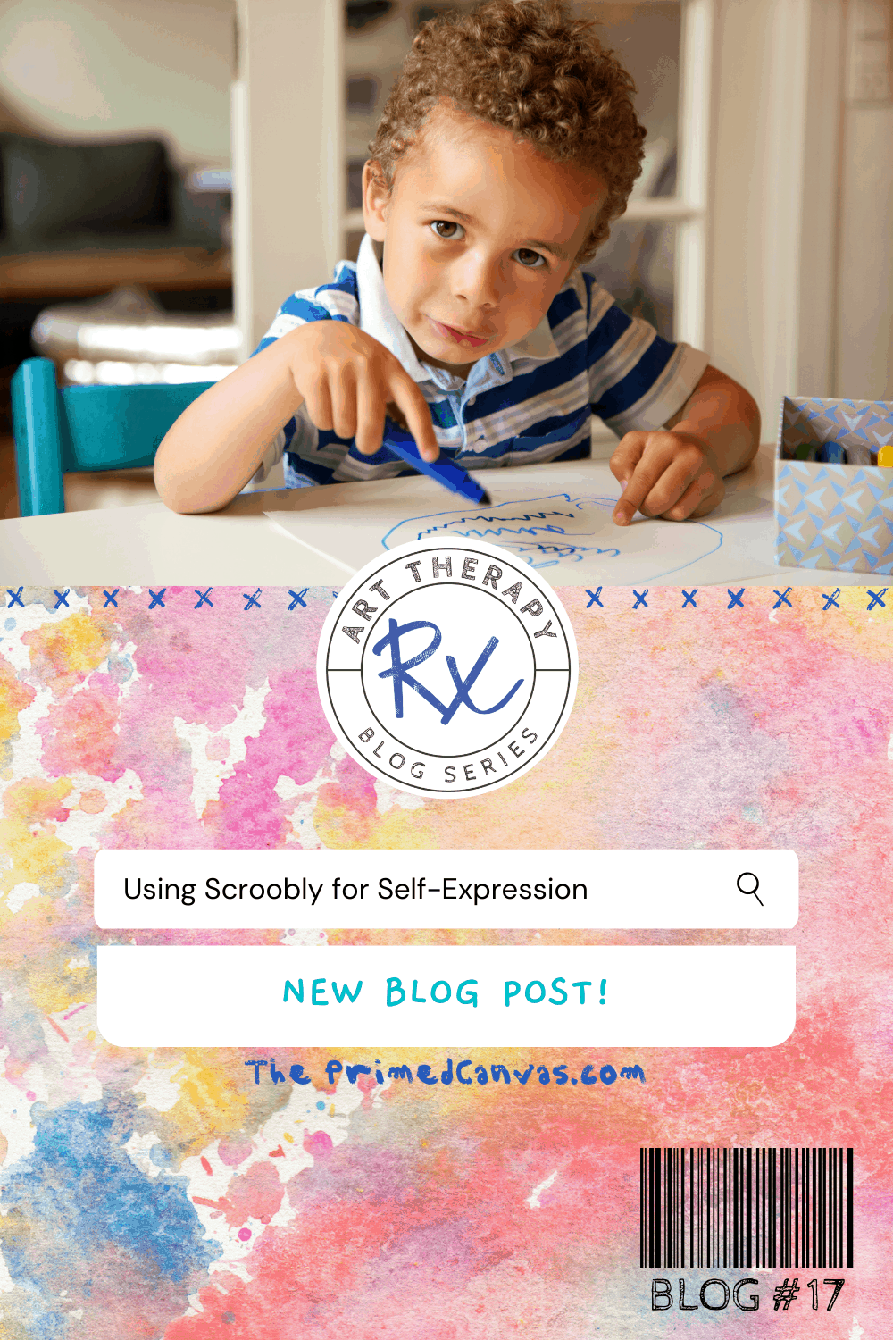 Art Therapy Rx: Add movement to your art therapy session using Scroobly!