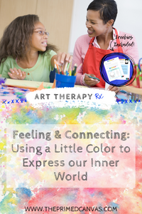 I am sharing today an art therapy classic that I have remixed just for you! This activity is versatile, the worksheet can serve to bring awareness to present feeling states; facilitate cognitive processing; provide psychoeducation on measuring the intensity of feelings; provide a channel for the creative process; facilitate discussion on coping, etc. [Disponible en Español]
