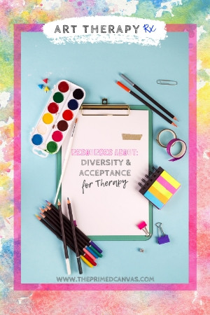 Art Therapy Rx Blog Series | Blog # 12 Addressing the topics of diversity and racism through bibliotherapy and art therapy.