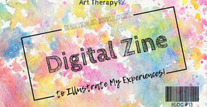 Creating an Interactive Digital Zine to Illustrate My Experiences