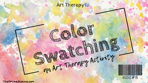 Color Swatching: An Art Therapy Activity