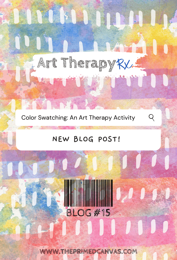 Art Therapy Rx: Color swatch feelings activity and bibliotherapy resource!