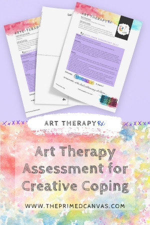 A creative therapy assessment to use in in your next art therapy session.