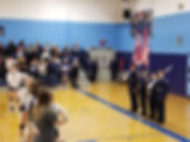 JROTC Volleyball Colorguard 11 Oct 2018
