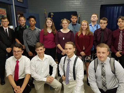 Fairborn JROTC dress up 1st of year 24 A