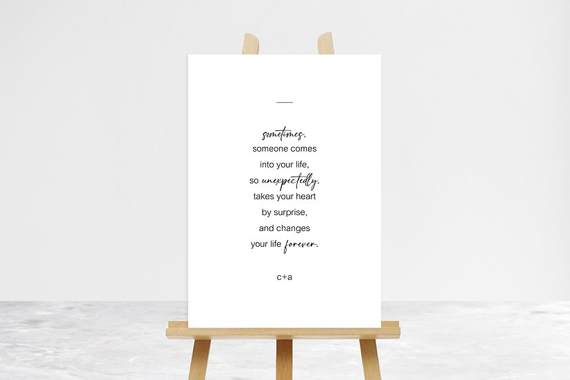 Sometimes Quote Sign