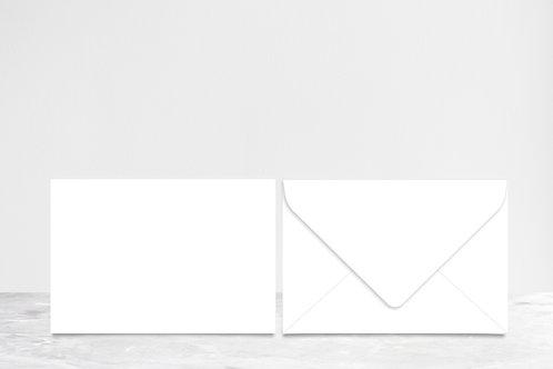 Envelope Only No Printing