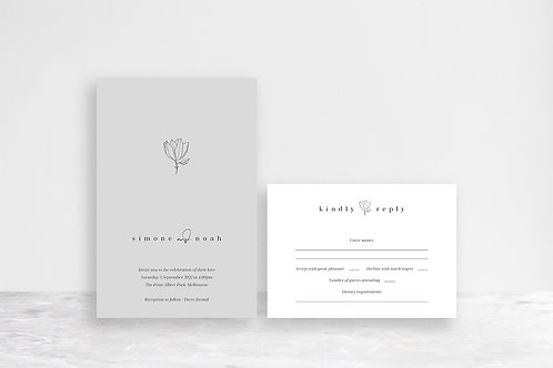 Noah 2 Card Invitation Suite
