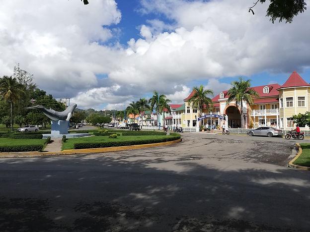 Центральная площадь Санта Барбара де Самана