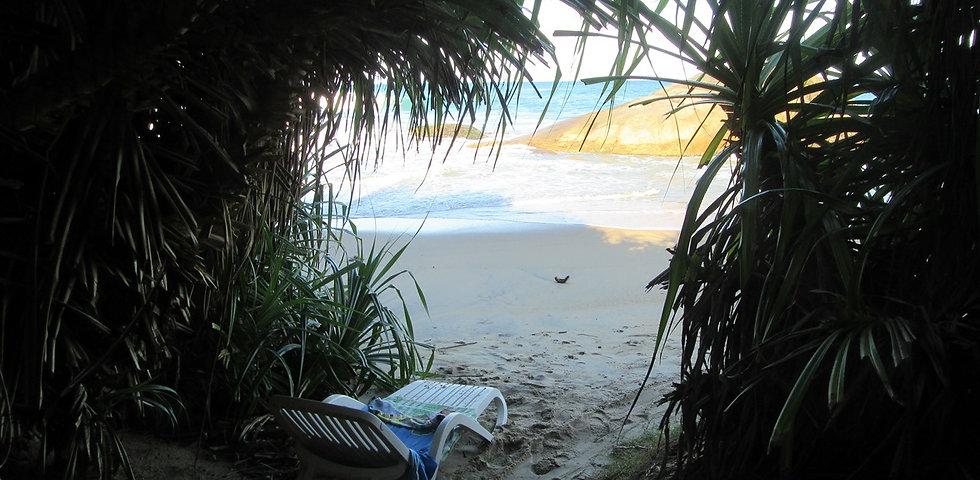 Выход на пляж Киринда