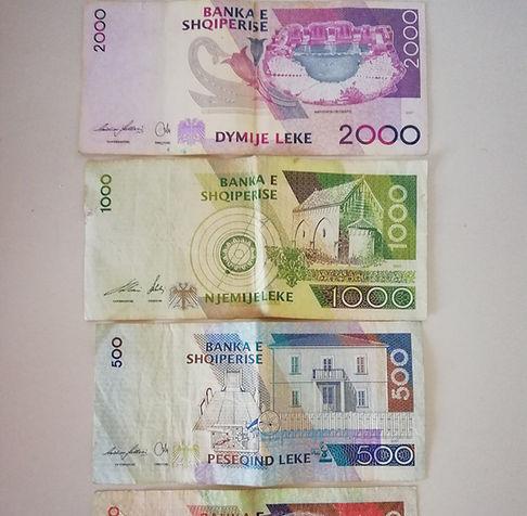 Албания, деньги, леки